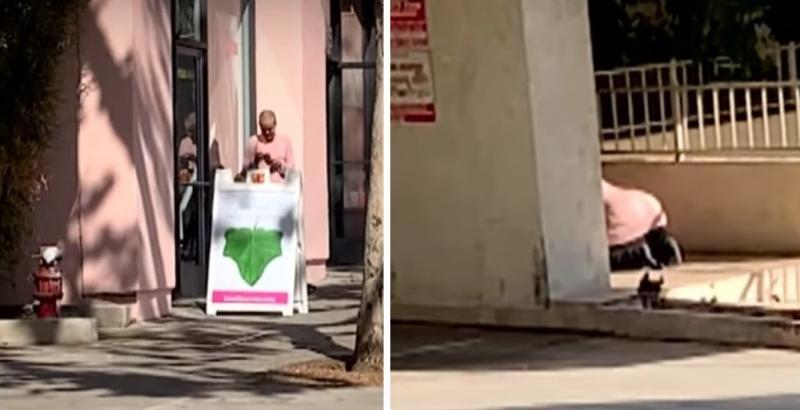 Дочь Успенской ползает по улицам на четвереньках