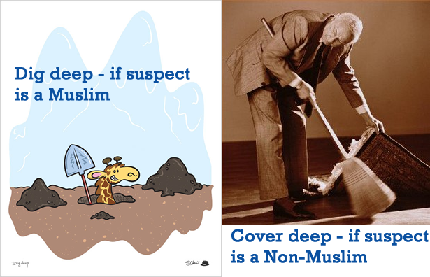 If shooter is a Muslim -dig deep if he's not, - cover deep