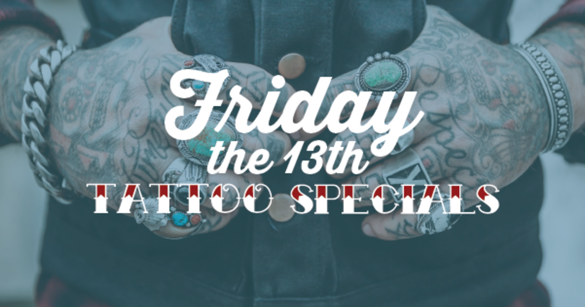 Friday The 13th Tattoo Specials