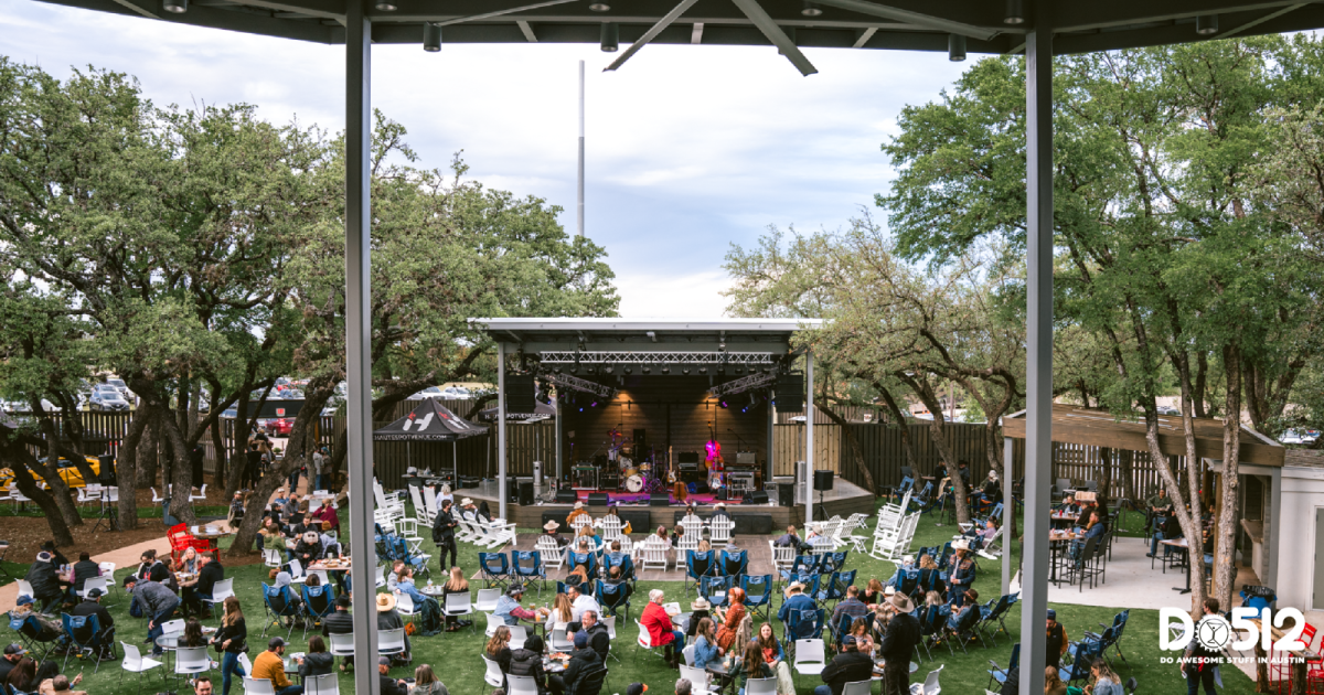Where to Sit and Watch Music in Austin
