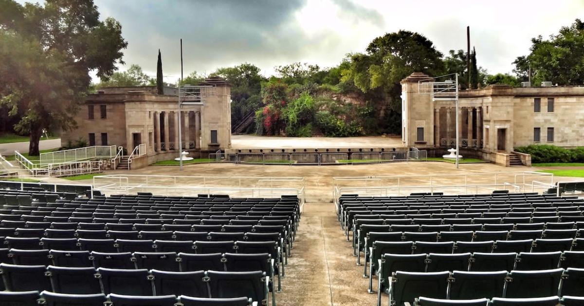 Sunken Garden Theater Upcoming Events In San Antonio On Do210