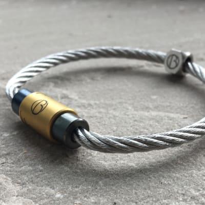 CABLE™ Custom Stainless Steel Bracelet