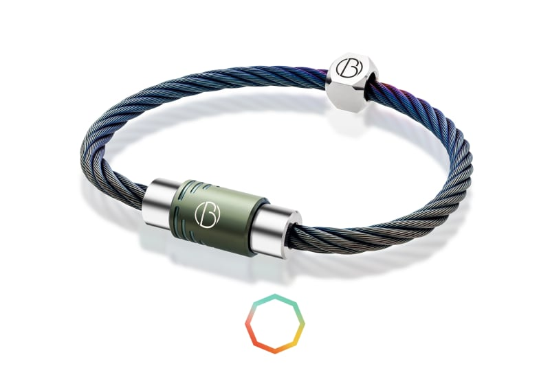 Bailey of Sheffield | CABLE™ Custom Stainless Steel Bracelet