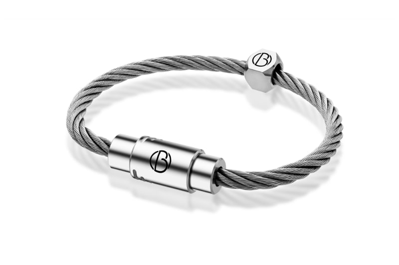 Bailey of Sheffield | CABLE™ Stainless Steel Bracelet