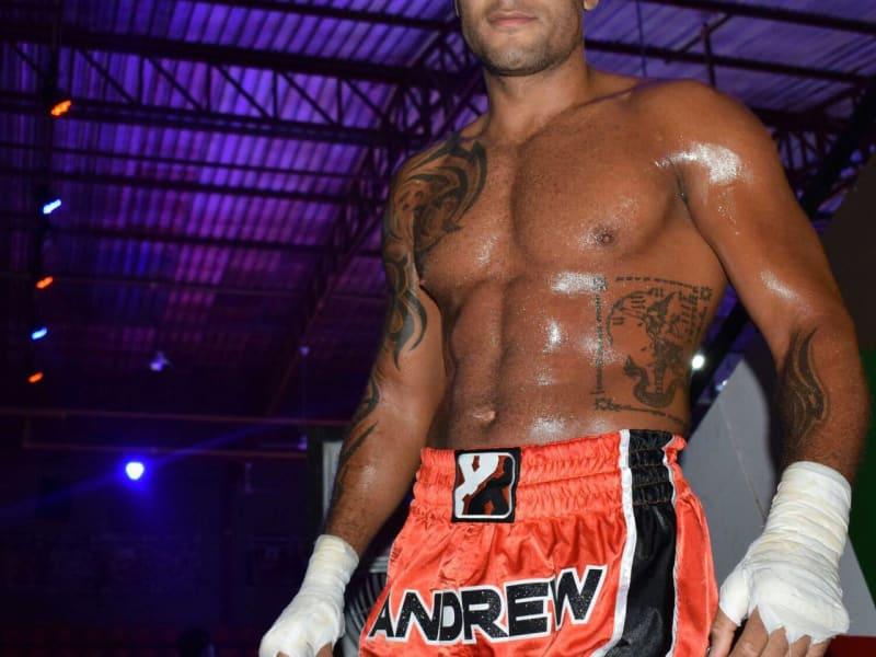 Boxxerworld Andrew McPolin Muay Thai fight