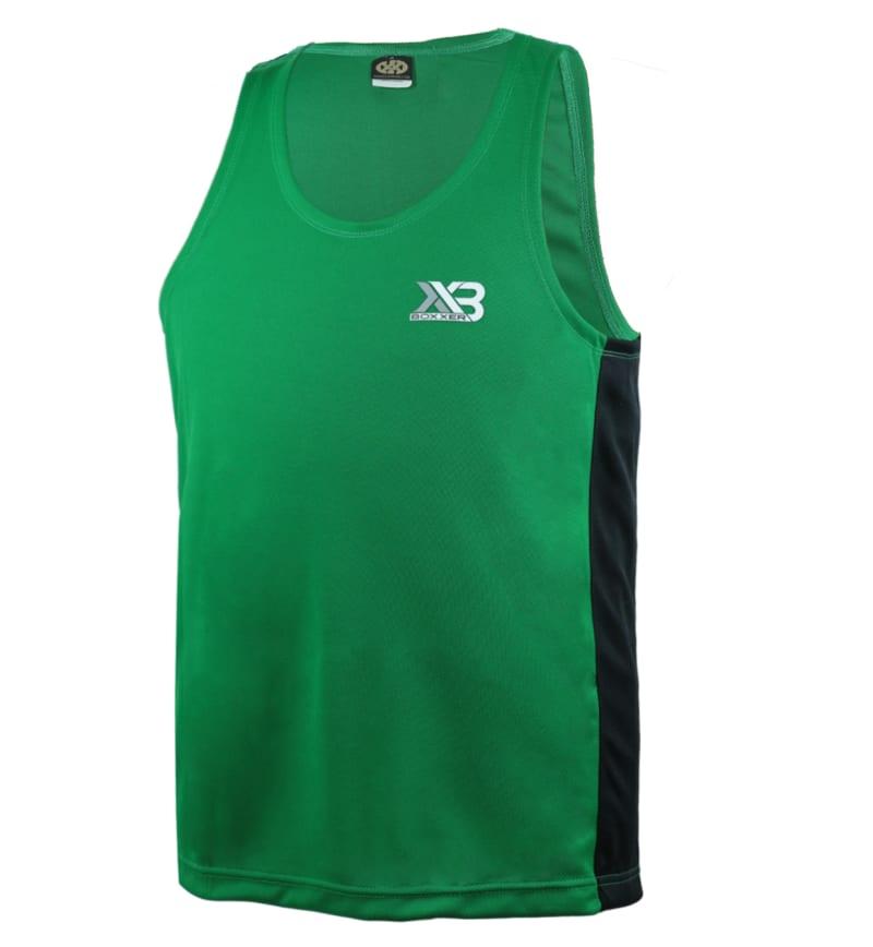 Boxxerworld Assassin Vest Green/ Black