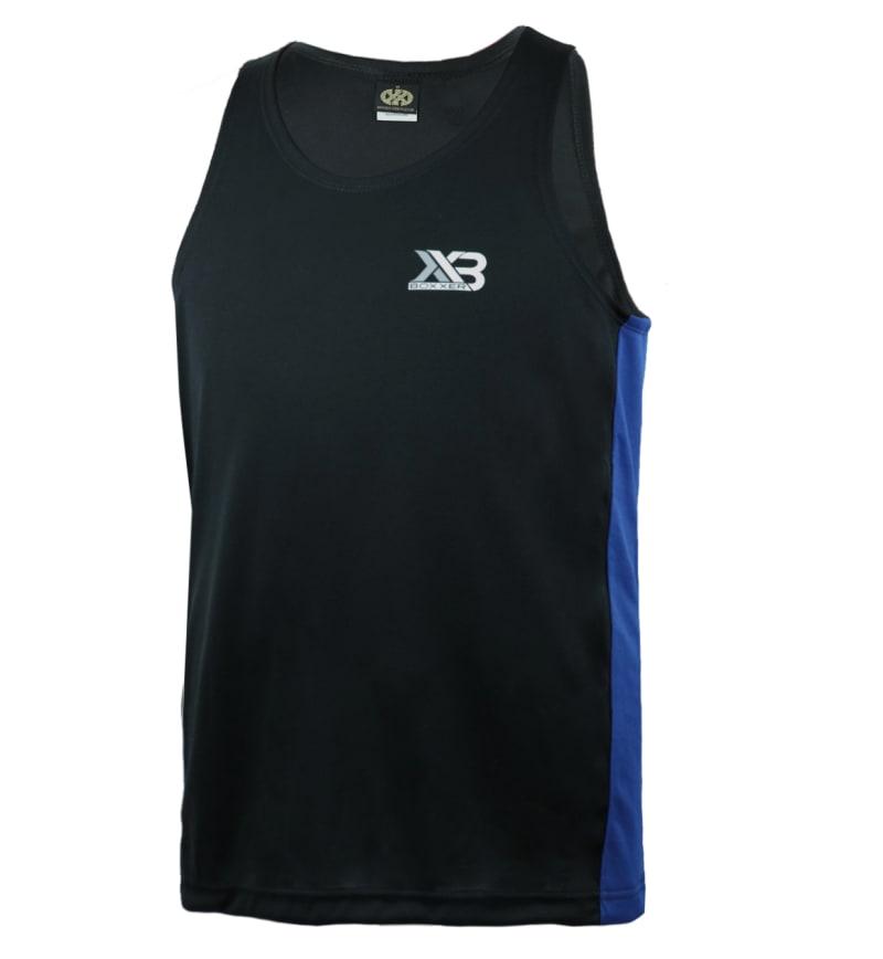 Boxxerworld Assassin Vest Black/ Blue