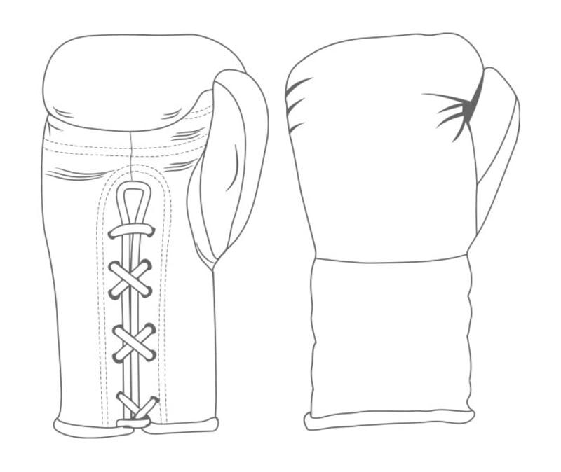 Gloves Laced / Flat | Custom Boxing Gloves | Boxxerworld