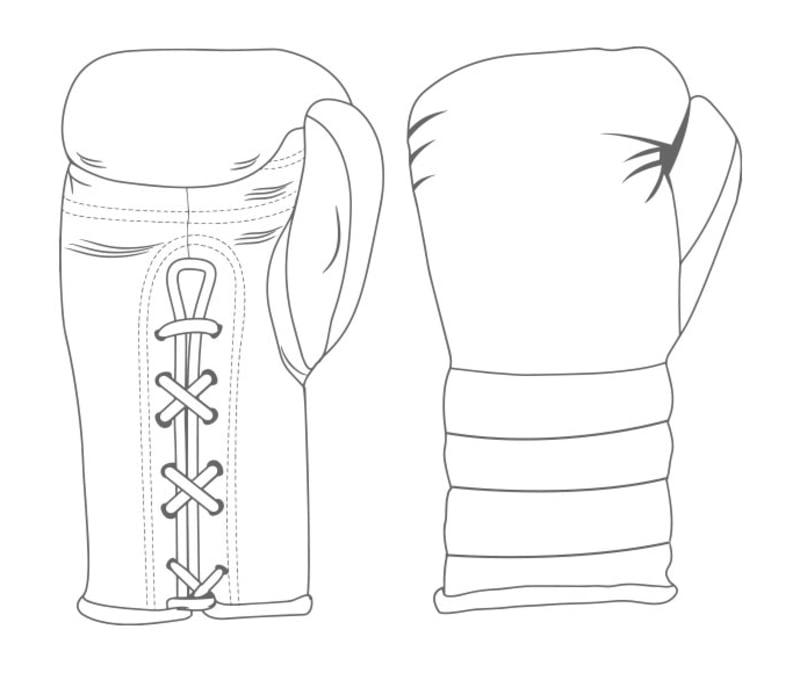 Gloves Laced / Ridged | Custom Boxing Gloves | Boxxerworld