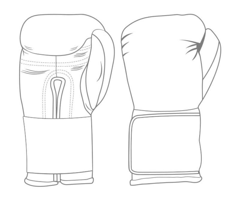 GLOVES EASY (2 colour) | Custom Boxing Gloves | Boxxerworld