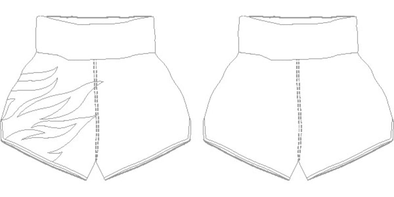 Roy Jones MTS | Custom Muay Thai Shorts | Boxxerworld