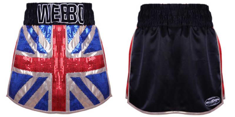 Great Britain Gladiator  | Custom Gladiator Shorts | Boxxerworld