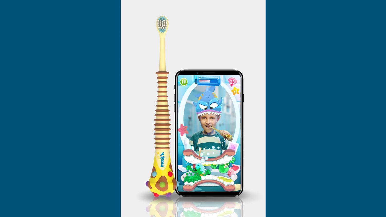 WEB Magik Toothbrush App