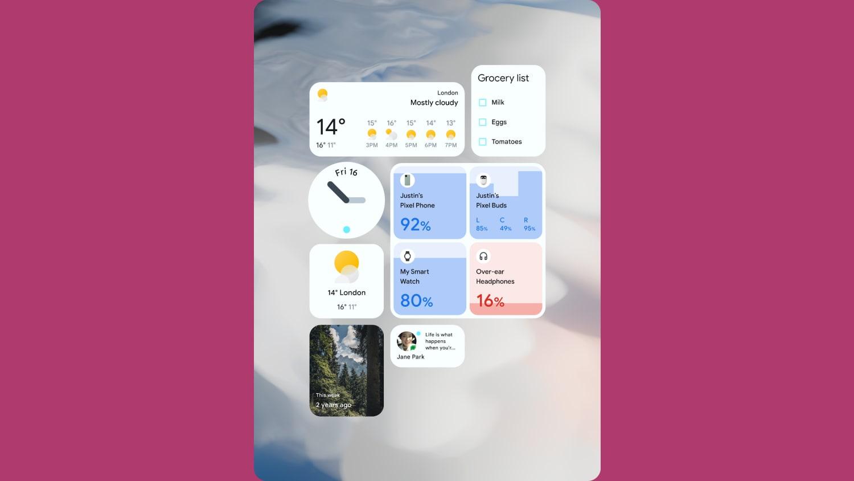 Apps INSIGHT Google IO Widget