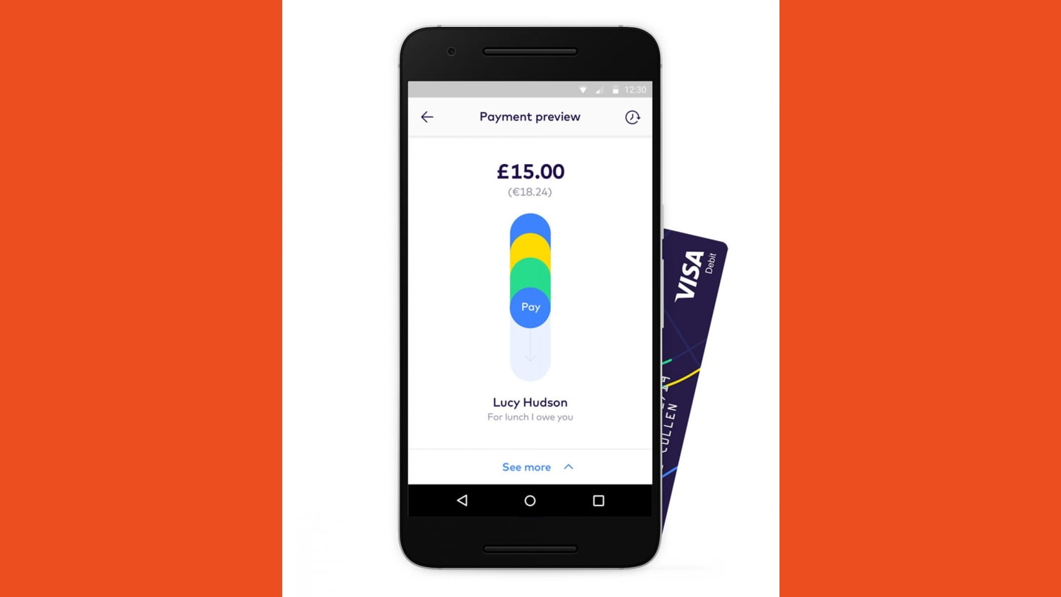 WEB android pay screen