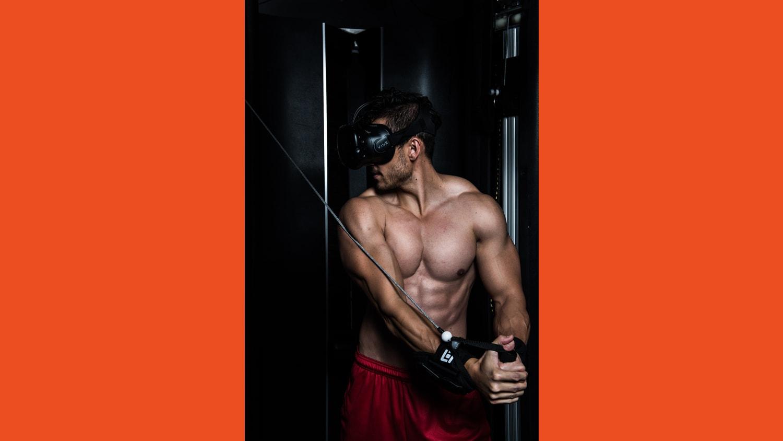 WEB Andy Black Box VR Machine 4529
