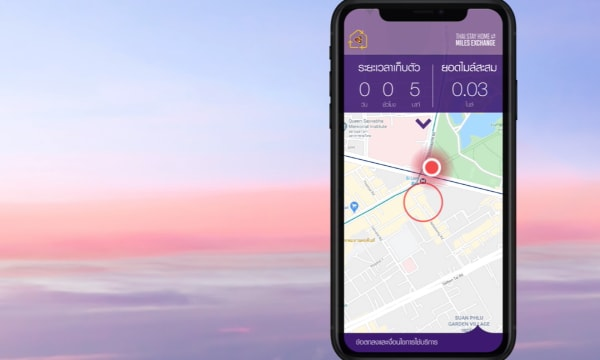 Thai Airways Stay Home Miles Exchange