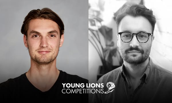 Jack Elliott and Lochie Newham take out first place at Cannes Young Lions.
