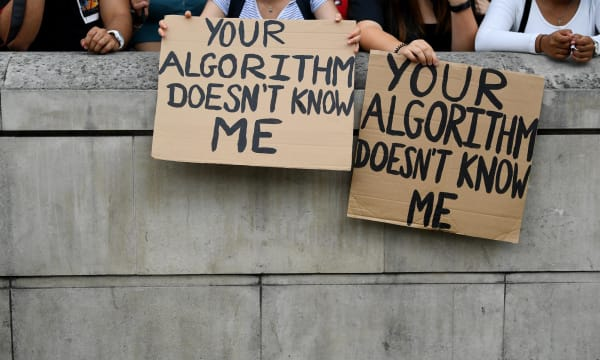 The A-Level results fiasco gave algorithms a bad name