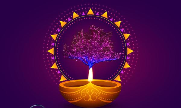 Creative - Light a diya for someone