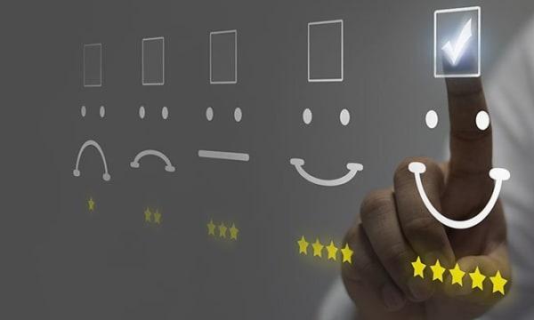 feedback / satisfaction emojis
