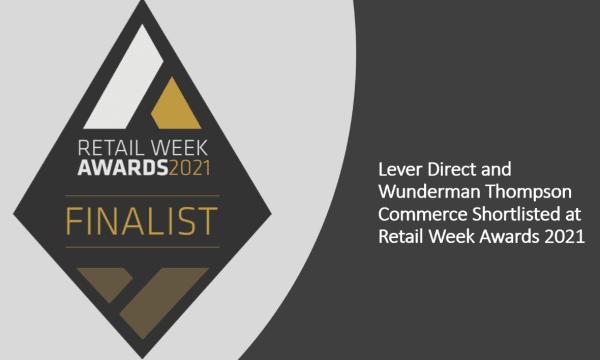 FINALIST STICKER Retail Week Awards