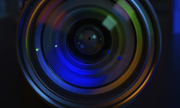 rainbow coloured lense