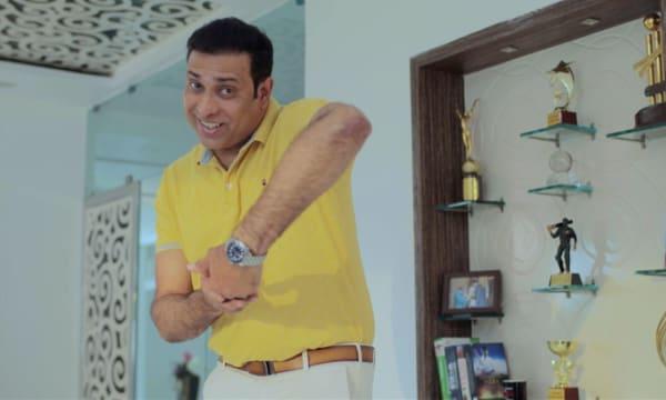 Cricket legend VVS Laxman for Tata Pravesh