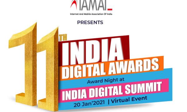 Logo of the India Digital Awards