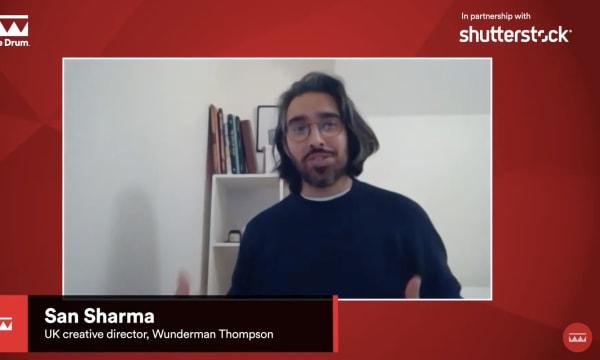 San Sharma on Drum panel