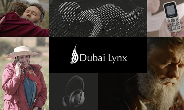 collection of key visuals from WT award winning work at Dubai Lynx Awards