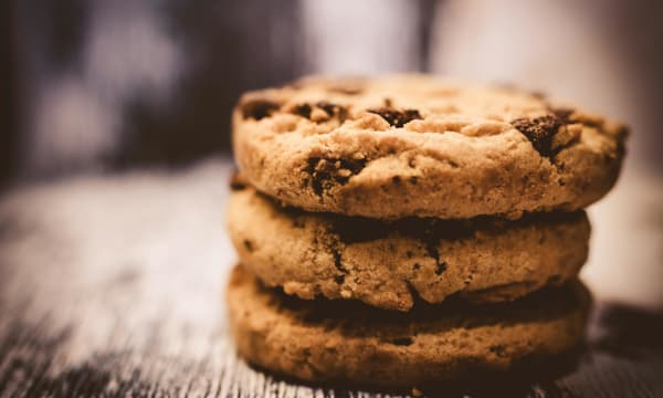 Stack of Cookies Hero image