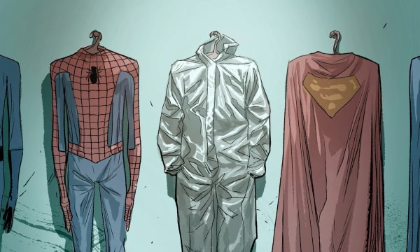 drawn suits for comic heros like Superman