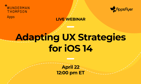 WT Apps Flyer Webinar 'Adapting UX Strategies'