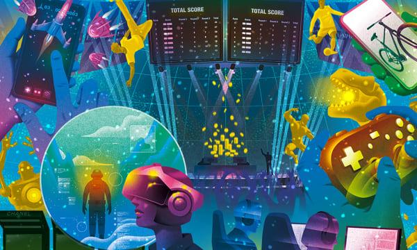 The Gaming Universe copyright illustration