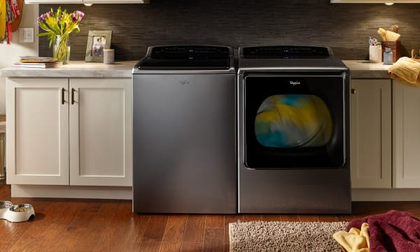 Smart top load washer and dryer 1 HERO