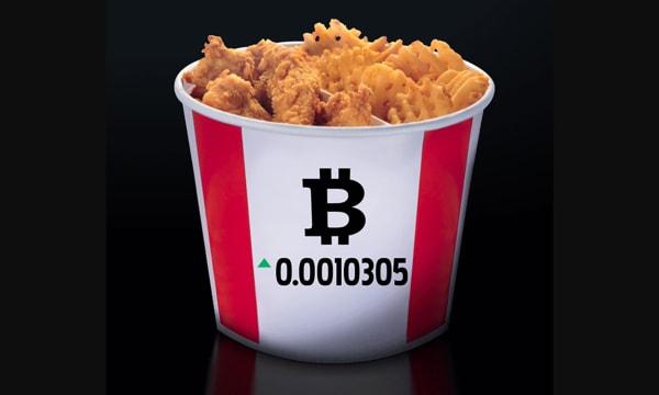 JWT Bitcoin Bucket KFC Canada