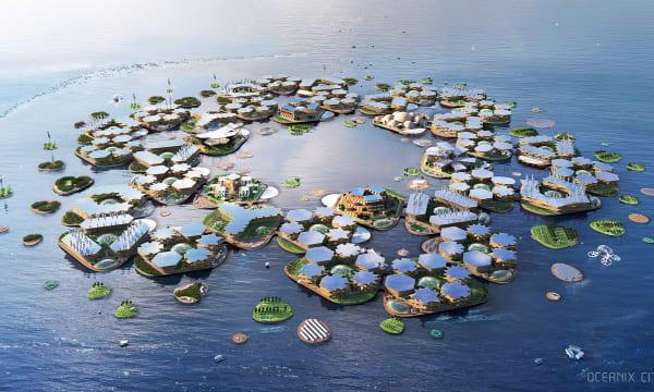 WEB 01 BIG SFC Oceanix City Aerial Image by BIG Bjarke Ingels Group 1