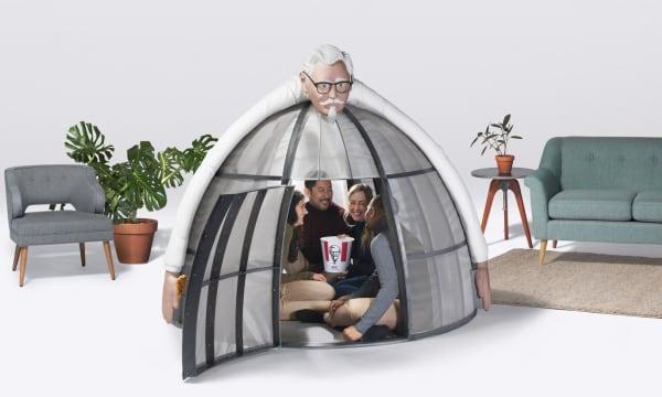 WEB KFC Internet Escape Pod