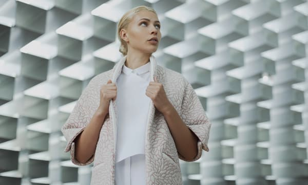 WEB PER se Nebula Coat Fashion Outerwear III