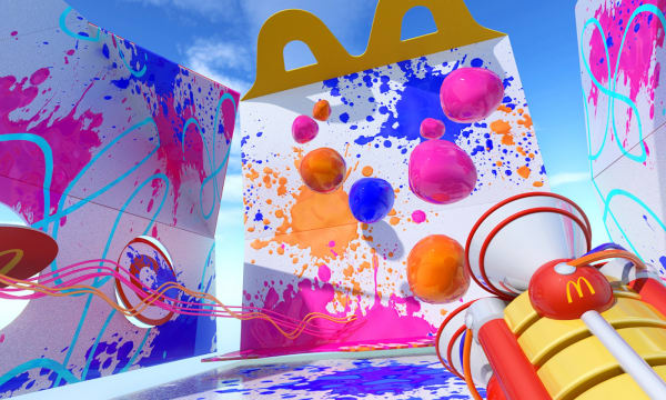 WEB Mc Donalds VR Happy Meal Box experience