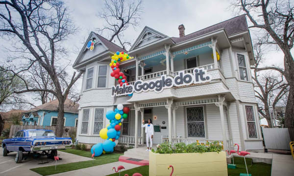 WEB Google Assistant Fun House2