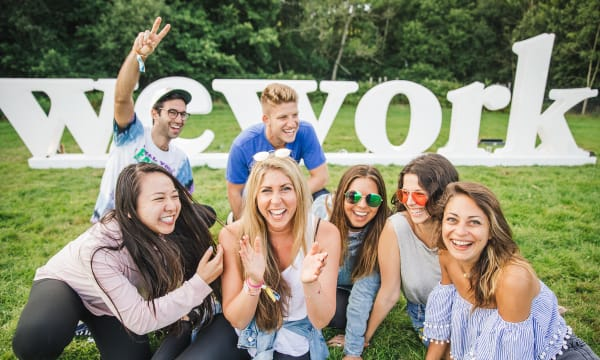 WEB WEWORK SUMMER CAMP 2017 7 We Work sign ANDREWWHITTON FANATIC