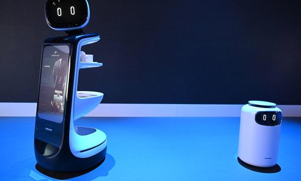 HERO Samsung CES 2019 Booth Samsung Bot DSC 7774