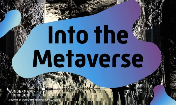 Into The Metaverse COVER