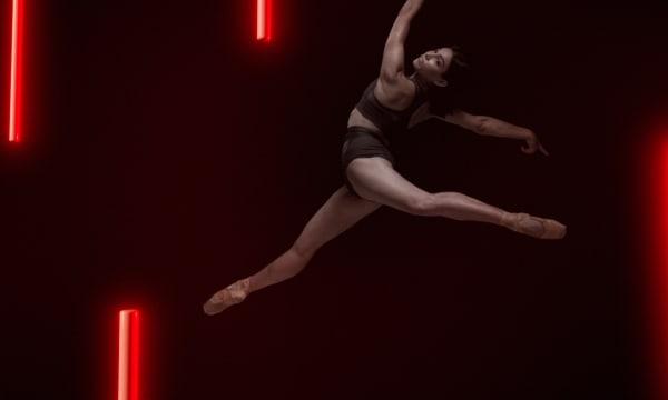 Penfolds ballerina jumping