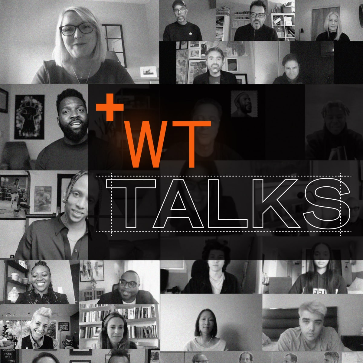 collage of event speak profile pics from WT Talks event
