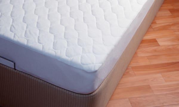 matress on wooden floor