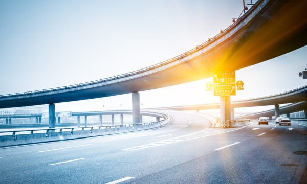 Motorway intersections