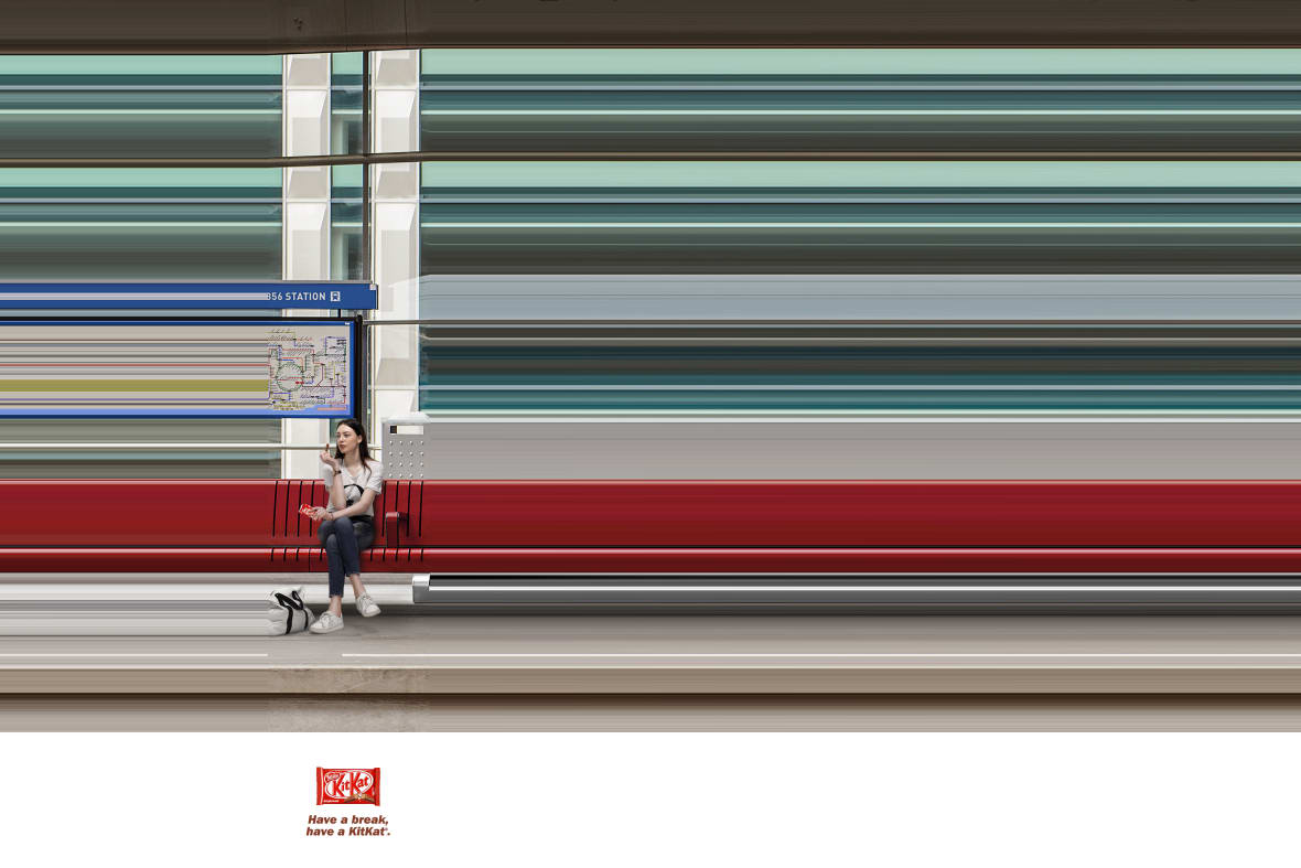 Break the speed nestle kitkat j. walter thompson casablanca